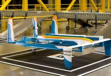 An Amazon Prime Air drone. Credit Amazon