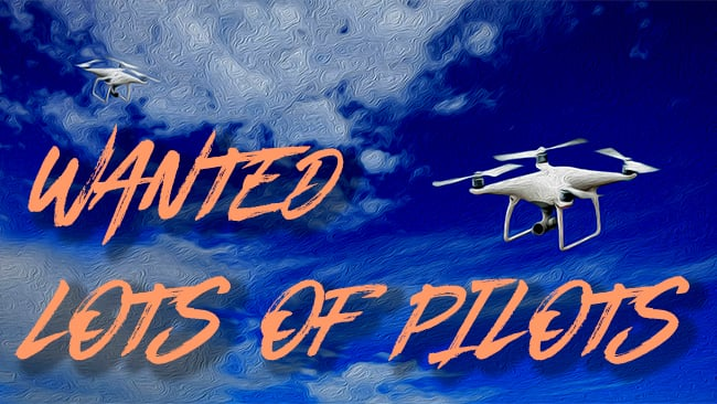 wanted lots of pilots poster