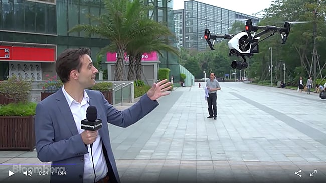DJI Interview Addresses Data Privacy Policy