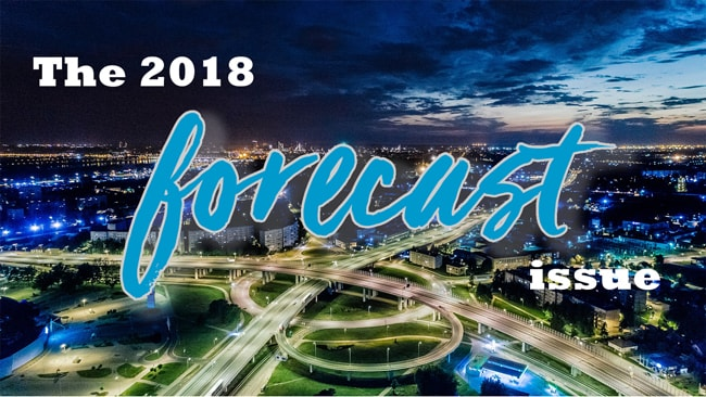 The 2018 Forecast issue of Dronin' On 01.06.18