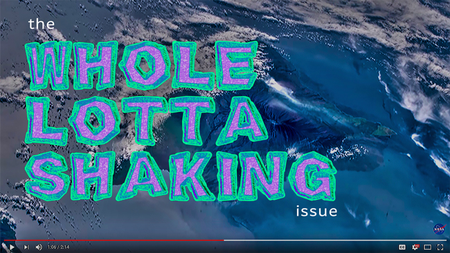 The 'Whole Lotta Shaking' issue of Dronin' On 05.19.18