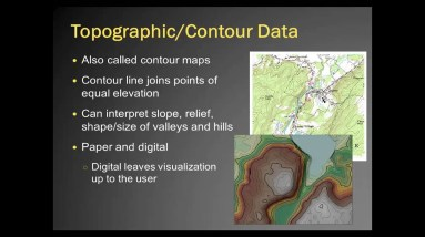 Basics of Using LiDAR Data, Lecture 1