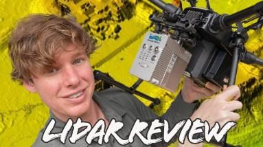 Drone LiDAR REVIEW | LiAirV | DJI LiVOX