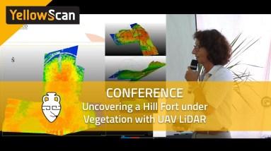 Uncovering a Hill Fort under Vegetation with UAV LiDAR (LiDAR for Drone 2017)