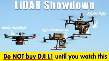 Don't buy the DJI Zenmuse L1 until you've seen this! ROCK vs RIEGL vs DJI