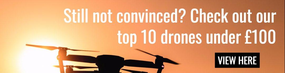 camera drones under £100