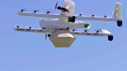 Burrito's delivered by drone - Alphabet's Project Wing in South Eastern Australia