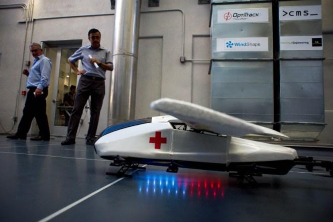 Caltech's big idea - a 150 mph drone ambulance 2