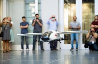 Caltech's big idea - a 150 mph drone ambulance