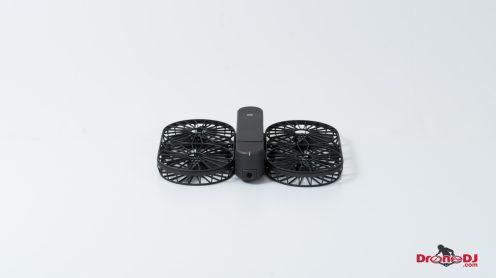 DroneDJ Moment Drone Foldable 4K Aerial Camera White 3