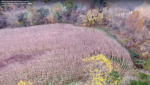 "From Sheriff Robert A. Graves: Good news! Deputies responded to a missing elderly person on Thayer Road on Sunday November 5th around 11:30am. Deputies obtained information and began a search. K9 and a Sheriff's Office Drone operator were called in to aid in the search. The search was slowed due to difficult terrain and a corn field. The Drone pilot, Officer Adam Krolfifer was able to locate the missing person within 25 minutes. The Drone program at the Sheriff's Office is one of our newest projects and one more project in our effort of going from ""Good to Great"" in professional community service. I am thankful to hear the good news of the safe return of the missing person. The family expressed their gratitude for the quick response. I am very proud of all of our team in making this safe return. Keep up the great work! Sheriff Robert A. Graves"