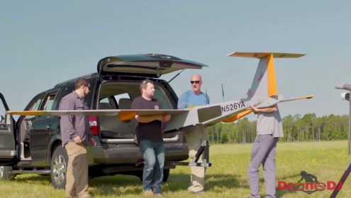 Verizon tests cell phone service from a drone to potentially save lifes