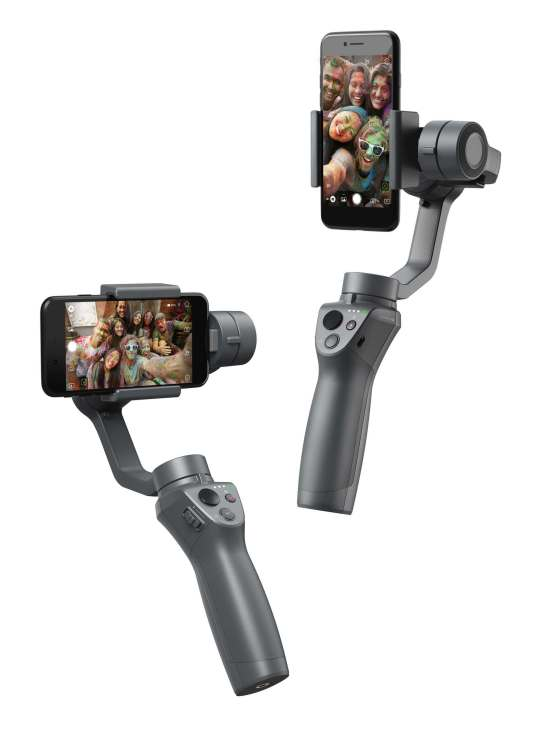 DJI reveals new Osmo Mobile 2 gimbal stabilizer ahead of CES 2018 0003