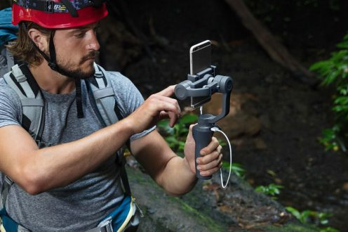 DJI reveals new Osmo Mobile 2 gimbal stabilizers ahead of CES 2018 0018