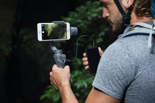 DJI reveals new Osmo Mobile 2 gimbal stabilizers ahead of CES 2018 0019