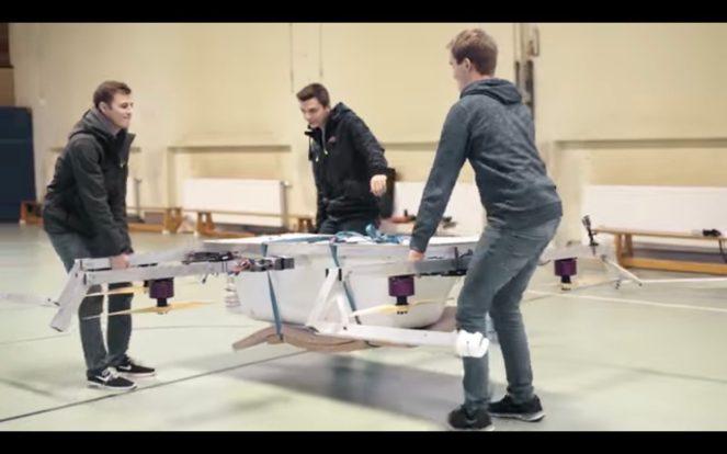 German engineering brings us the flying bathtub drone 0012