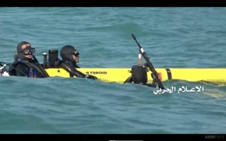 Smokey the U.S. Navy Underwater Drone captured by Houthi forces 7