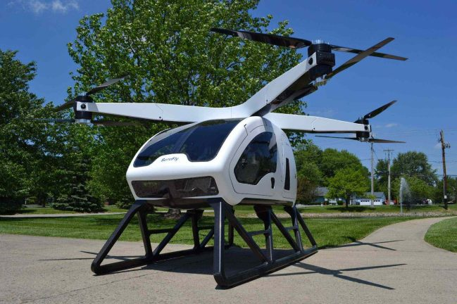 Workhorse's Surefly drone helicopter allowed to fly at CES2018 0000