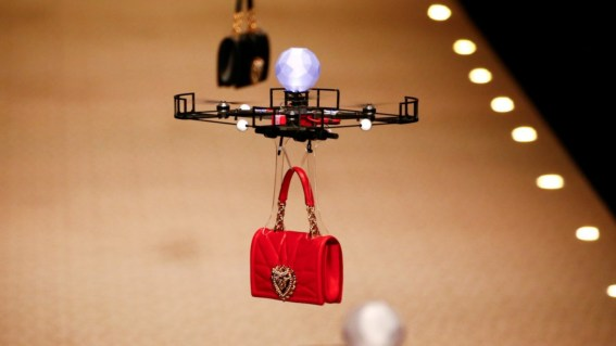 Drones carrying handbags steal the show at Dolce & Gabbana