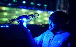 The 2018 Winter Olympics close with another spectacular Shooting Star drone show from Intel 0001