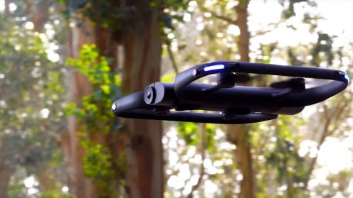 The new Skydio R1 drone. Years ahead of DJI's APAS and ActiveTrack 0001