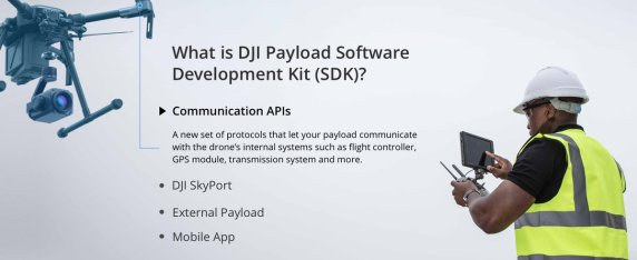 DJI onboard SDK and Skyport adapter 8