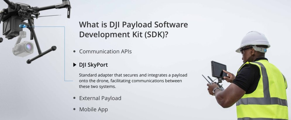 DJI onboard SDK and Skyport adapter 9