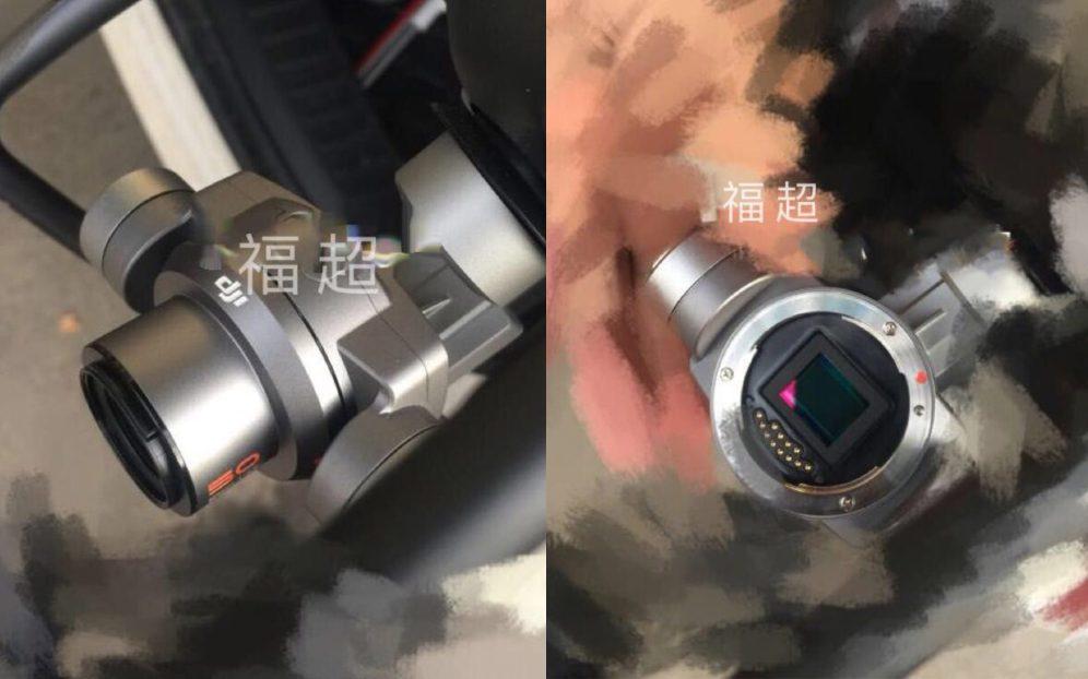 DJI Phantom 5 with interchangeable lenses