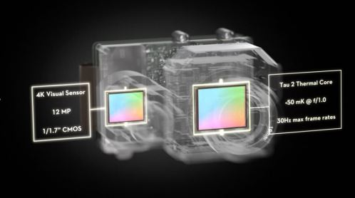 DJI Zenmuse XT2 - the new dual sensor camera with Flir 2