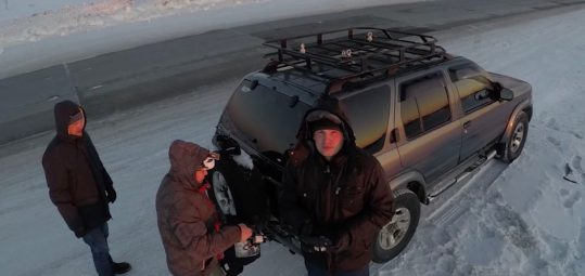Russian sends his drone up to 33,691 feet - 0001