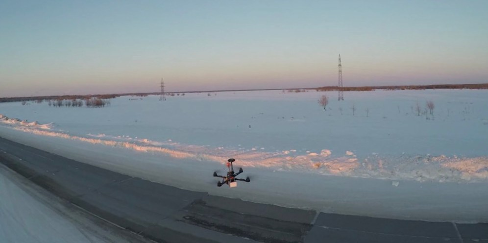 Russian sends his drone up to 33,691 feet - 0002