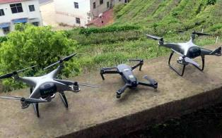Additional photos of the new Phantom 5 or 4 Pro V2.0 show 2 drones. Prototypes or the real deal