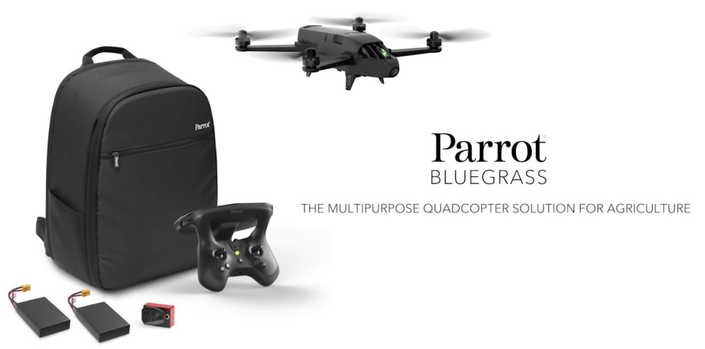 Press Release: Parrot unveils Parrot Bluegrass at the Commercial UAV Expo! 0019
