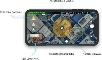 You can now fly your DJI drone directly from the AirMap app for iOS and Android 0002