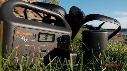DroneDJ review of the Jackery 240W Battery Charger and Solar Panel 0021