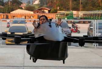 A passenger drone from Philippine inventor aims to cut travel time in half 0001
