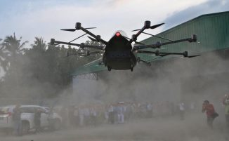 A passenger drone from Philippine inventor aims to cut travel time in half 0003