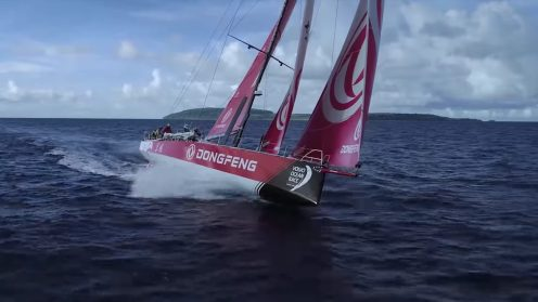 Check out the best drone video footage of the Volvo Ocean Race 0010