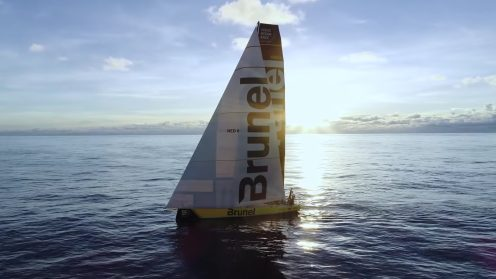 Check out the best drone video footage of the Volvo Ocean Race 0011