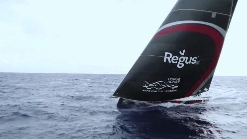 Check out the best drone video footage of the Volvo Ocean Race 0016