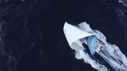 Check out the best drone video footage of the Volvo Ocean Race 0022