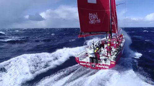 Check out the best drone video footage of the Volvo Ocean Race 0026