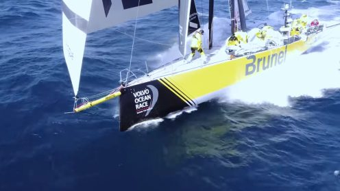 Check out the best drone video footage of the Volvo Ocean Race 0028