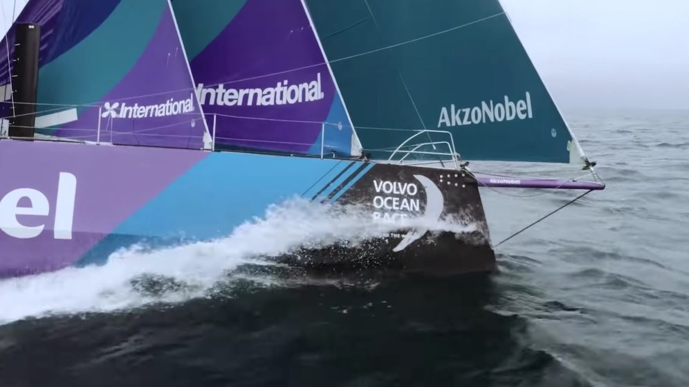 Check out the best drone video footage of the Volvo Ocean Race 0029