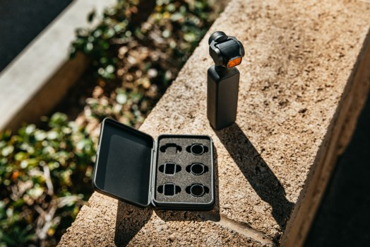 Tiffen filter kit available for the DJI Osmo Pocket