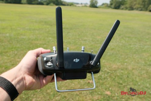 New DJI Digital FPV Transmission System with low latency and HD video for drone racing 0011