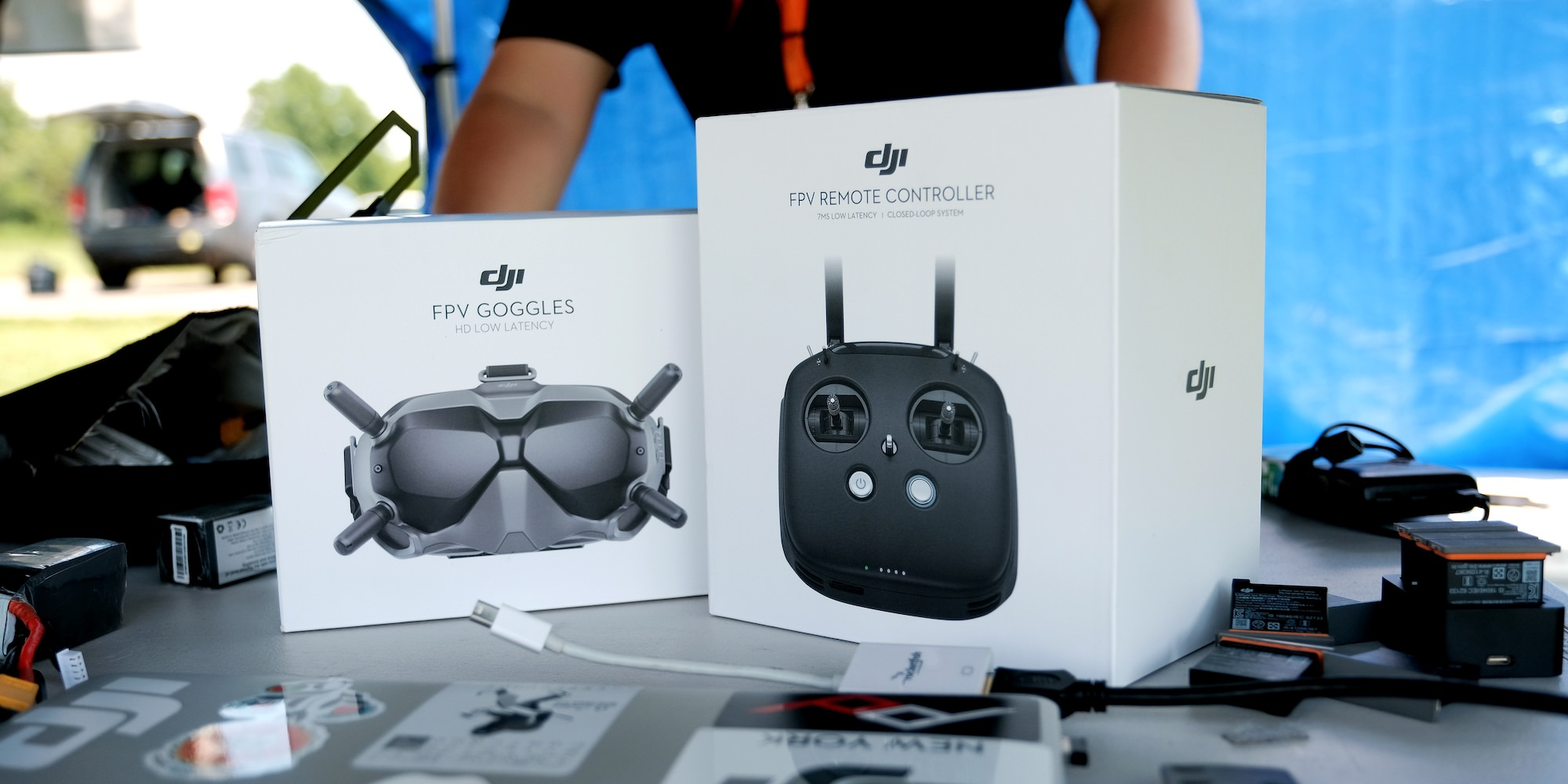 DJI Digital FPV Transmission System with low latency and HD video