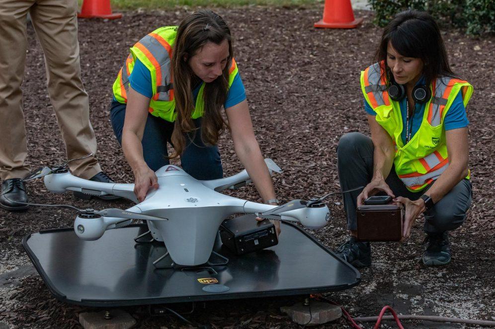 Meet the UPS Flight Forward all-female drone flight crew