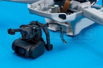 DJI-Mavic-Mini-drone-teardown-guide-repair-gimbal-removed-from-drone-1200x801