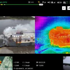 drone thermal camera fire4